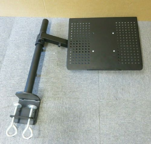Mount-It MI-3352LT Black Adjustable Laptop Notebook Desk Stand Mount Arm